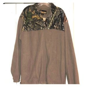 Rocky Camo and Tan Polyester Jacket Size XL